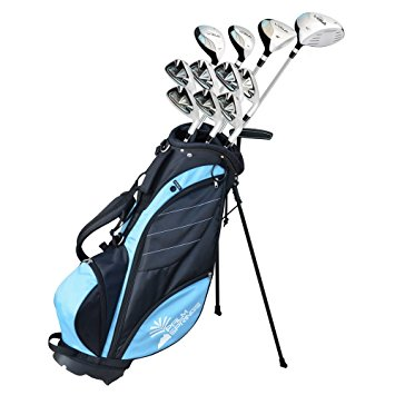 Palm Springs Golf Visa Lady All Graphite Hybrid Club Set